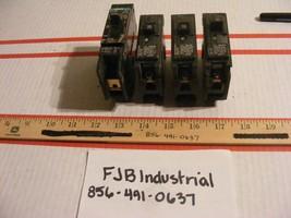 Lot of 4 Misc Siemens Circuit Breakers BQD120, B115, B120, B120H See Pics - $34.99