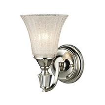 Elk Lighting Lincoln Square 1-Light Sconce, Polished Nickel - $202.58