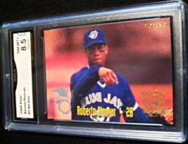 1995 Fleer All-Stars Alomar Duncan GMA Graded 8.5 NM-MT+ baseball Card N... - $7.75