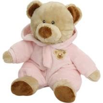 "Pyoopeo Ty Pluffies 11"" 27cm Pj Baby Bear Pink Plush Medium Soft Stuffed... - $7.69"