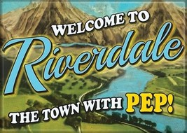 Riverdale TV Series The Town With Pep! Logo Refrigerator Magnet Archie C... - $3.99