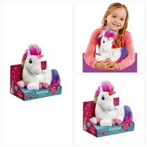 Animagic Rainbow - My Glowing Unicorn, a Soft Unicorn Plush Toy with Glo... - $32.53