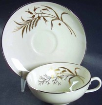 FRANCISCAN WINTER BOUQUET CUP AND SAUCER SET - $14.84