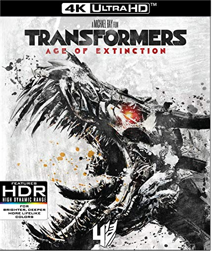 Transformers: Age of Extinction [4K Ultra HD + Blu-ray]
