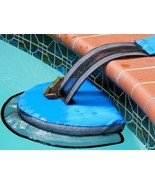 """25.5"""" Blue and Black Frog Log Swimming Pool Critter Saving Escape Ramp - $21.77"""