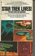 Star Trek Lives ORIGINAL Vintage 1975 Paperback Book Bantam - $19.79