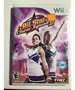 All Star Cheer 2 Nintendo Wii 2009 - $9.74