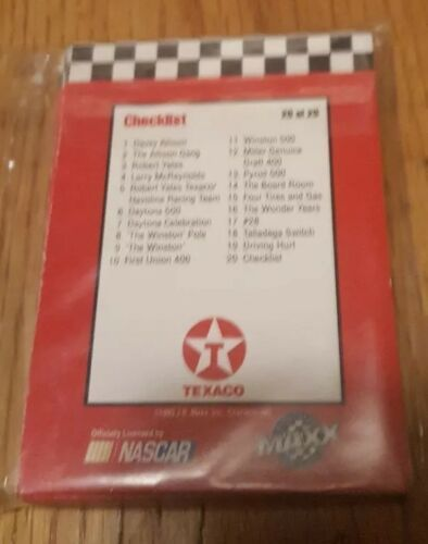 Davey Allison Maxx Collector Series Complete 20 Card Set image 2