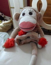 Sock Monkey Golf Club Cover By Daphne - $25.00