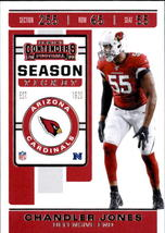 Chandler Jones 2019 Panini Contenders Card #95 - $0.99