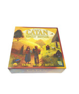 Catan Family Edition Trade Build Settle Board Game NEW (2012) - $32.66