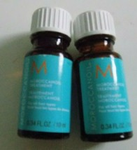 Lot of (2) Moroccanoil Treatment For All Hair Types .34 Oz.-FREE SHIPPING! - $9.78