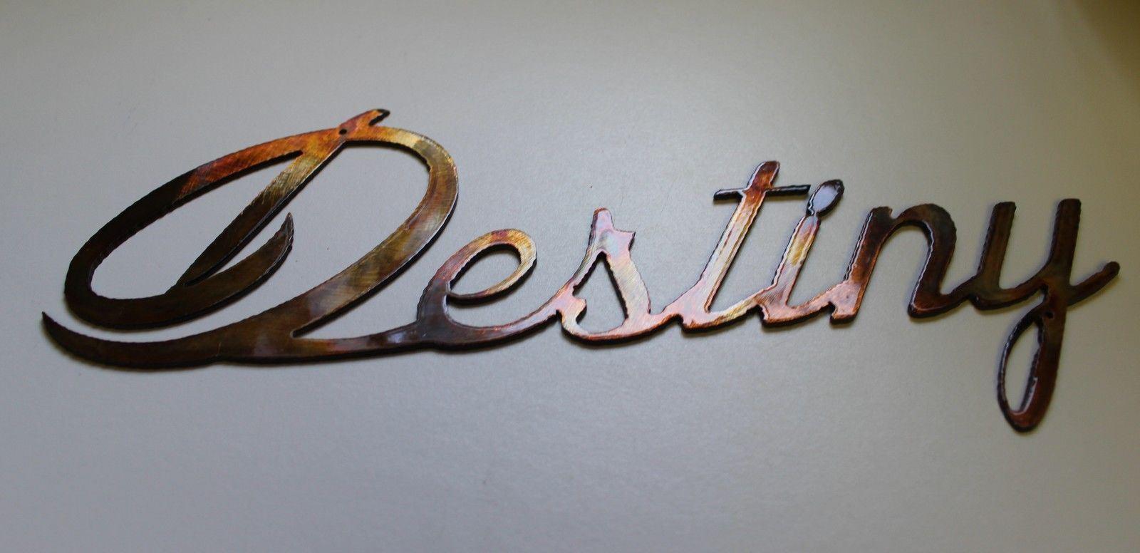 Destiny Metal Wall Art Accents  copper/bronze finish