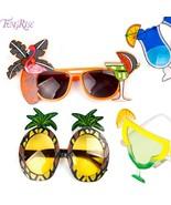 Hawaiian Beach Sunglasses Flamingo Pineapple Sunglasses  Night Stag Party - $9.99