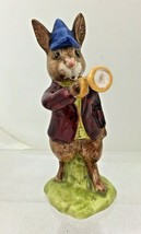 1974 Royal Doulton Bunnykin Rise and Shine Bunny w Horn Bugle No Box T53 - $44.55