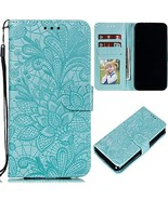 XYX Xperia XA2 Plus Case,Xperia XA2 Plus Wallet Case,[3D Lace Flower] PU... - $8.90