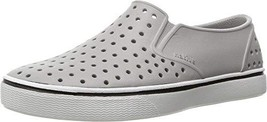 Native Kids Miles Junior Water Proof Shoes, Pigeon Grey/Shell White, 1 M... - $34.95