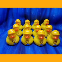 12 Construction Ducks Rubber Duck Shovel Hard Hat Safety - $12.86