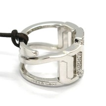 REBECCA BRONZE BAND RING, GOURMETTE LINK WITH ZIRCONIA, BELABB06, MADE IN ITALY image 2