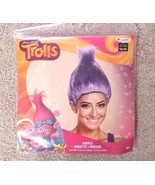 NEW Dreamworks Trolls purple adult wig violet costume cosplay halloween ... - $8.98