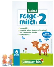 Holle Lebenswert Stage 2 Organic Infant Formula New Recipe 500g Free Shi... - $22.95