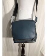 Coach Charles Small Messenger Bag Hawaiian Crossover Body Blue Floral Ne... - $309.77