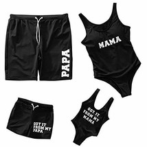 Mommy and Me Swimsuit Family Matching Swimsuit One Piece Baby Girls Boys... - $13.89