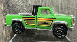 """Tonka Toy Pick Up  Vintage Metal Truck Made in USA 7-1/2"""" x 3"""" x 3"""" Green Nice - $19.95"""