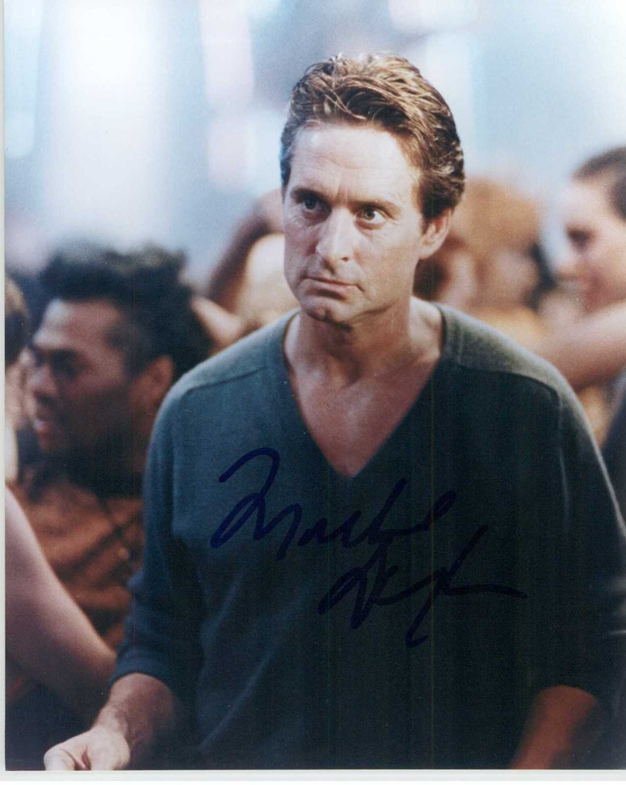 "Primary image for Michael Douglas Signed Autographed ""Basic Instinct"" Glossy 8x10 Photo"