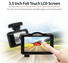 "Lukas LK-9370 Blackbox Dash Camera 2CH Full HD Wi-Fi 3.5""LCD Dual 8Gb+8Gb+GPS image 7"