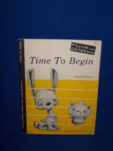 Time To Begin Francis Clark Library for Piano Students, 1955 Music Book - $7.50
