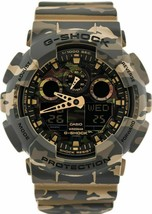 New Casio G-shock GA-100CM-5A Analog Digital Resin Band Watch - $135.45