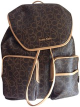 CALVIN KLEIN Logo Patterned Backpack - $123.75