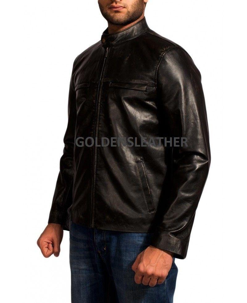 Aaron-Taylor-Godzilla-Jacket Replica movie Leather Men Jacket