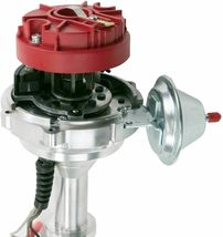 Pro Series R2R Distributor for Buick BB 400 430 455, V8 Engine Red Cap image 6