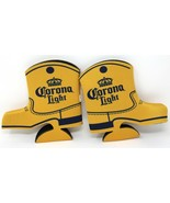 2-Pack Corona Light Beer Country Western Boot Bottle Cozy Cooler Coozie ... - $8.59