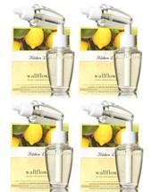 4 White Barn Kitchen Lemon Wallflower Home Fragrance Refill 2 Pack (8 Bu... - $41.50