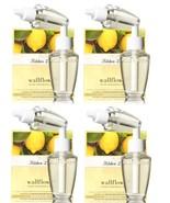 4 White Barn Kitchen Lemon Wallflower Home Fragrance Refill 2 Pack (8 Bu... - $41.50