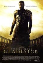 Gladiator Poster Ridley Scott Russell Crowe Joaquin Phoenix Movie Art Pr... - $10.90+