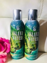 2 NEW Bath & Body Works ISLAND WATERS Room Spray 5.3 oz Air Freshener Rare - $48.41