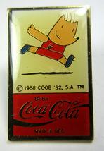 Vintage Coca Cola Coke Beba Barcelona 1992 Olympics Lapel Pins Track, Swimming image 7