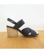 36 / 5.5 US - Silent D Anthropologie Black Silchin $150 Sandals w/ Box 0... - $34.00