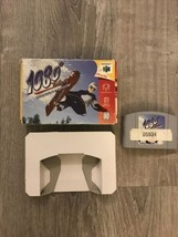 1080 Snowboarding (N64, Nintendo, 1998) W Box Authentic & Cleaned - $34.99
