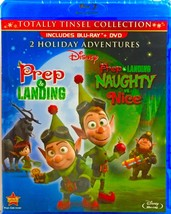 Disney Prep & Landing/Naughty vs. Nice (Totally Tinsel Collection) [Blu-ray+DVD]