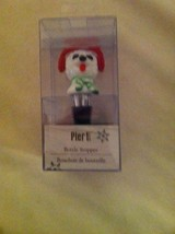 NEW  PIER 1---WINE  BOTTLE STOPPER--WINTER--HOLIDAY--NEW - $11.62
