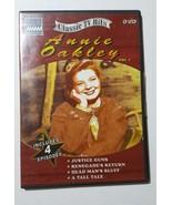 Annie Oakley Vol. 1, Classic TV Hits DVD Includes 4 Episodes - $6.79