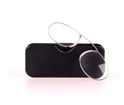 Glasses Reading Mini Clip Nose Resting Reader Men Women Farsighted Retro - $11.18