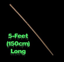 Medieval PLASTIC WALKING STAFF STICK PROP Witch Wizard Cosplay Costume A... - ₨326.61 INR