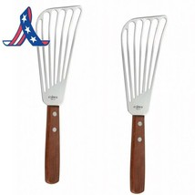 Pack Of 2 Fish Spatula With Wooden Handle - $11.52