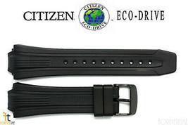 Citizen Eco-Drive E168-S080118 Black Rubber Watch Band Strap - $74.95